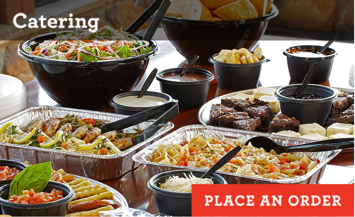 Place an order for catering